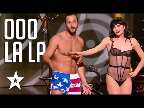 Sexy Burlesque Dancing Couple On Got Talent Got Talent Global Youtube