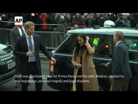 Associated Press: AP looks back at an eventful year for Harry and Meghan