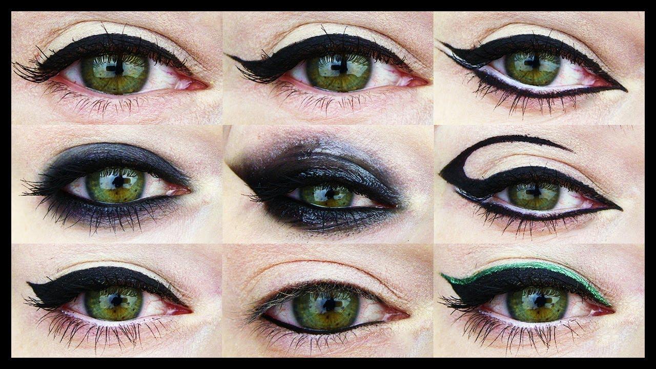 21 EYELINER TUTORIALS ★ For all Eye Shapes