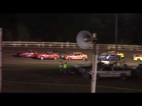 Hummingbird Speedway (9-15-18): Aaron's Four-Cylinder Feature