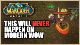 Classic WoW feels like a completely different MMO.