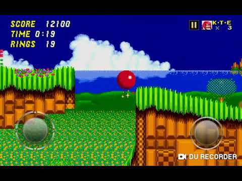 Jugando A Sonic 1 Y 2 Con MARIA R.L (Vídeo Especial) (EL ÚNICO VÍDEO QUE SE SUBE EL SÁBADO) :V