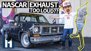 NASCAR Boom Tubes & AC!? Ultimate Chevy C10 Squarebody Street Truck
