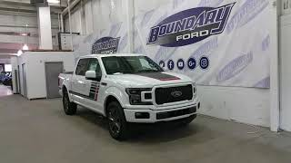 2018 Ford F-150 SuperCrew Lariat Sport Special Edition 502A W/ Ecoboost Overview | Boundary Ford