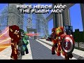 Minecraft The Flash Mod/ Fisks Heroes Mod Review
