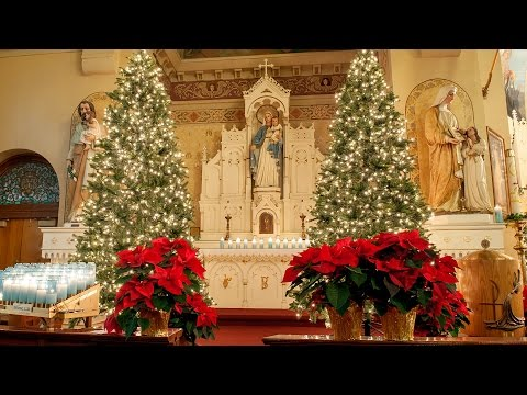 St. Stanislaus decorates for Christmas