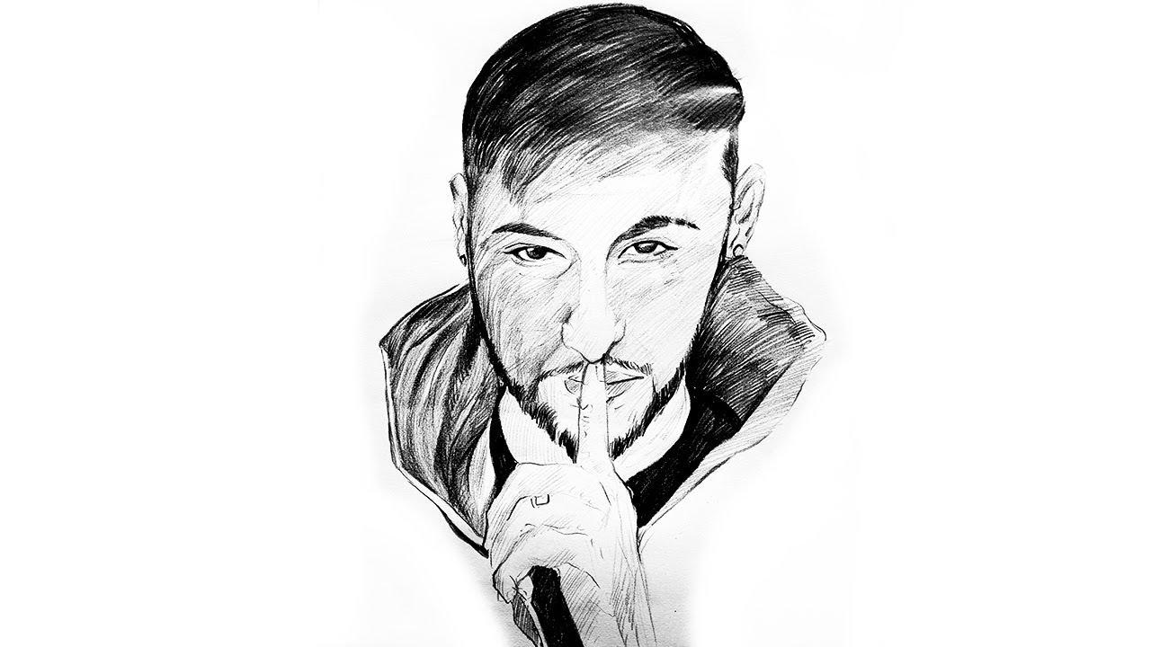 Drawing pencildrawing neymarsketch