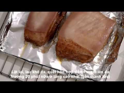 Cách làm thịt heo quay