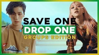 [KPOP GAME] SAVE ONE DROP GROUPS EDITION (VERY HARD) [35 ROUNDS]