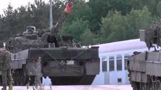 Von der Straße auf die Bahn ,Bundeswehr in Action ! TANK ACTION 2