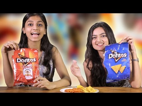 Indians Try American Snacks