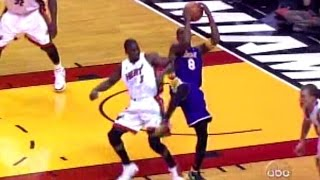 2005.12.25 Dwyane Wade 18 points vs L.A. Lakers On Xmas Day, Battle with Kobe!