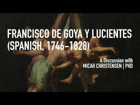 The development and career of Francisco de Goya y Lucientes (Spanish, 1746-1828)
