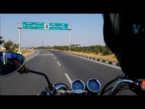 Royal Enfield Thunderbird 500 on Long ride