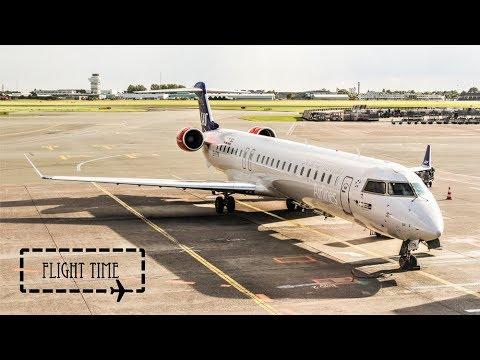 FLIGHT REPORT   SAS CRJ900 operated by CityJet   Copenhagen to Hamburg   SAS Go (Economy)