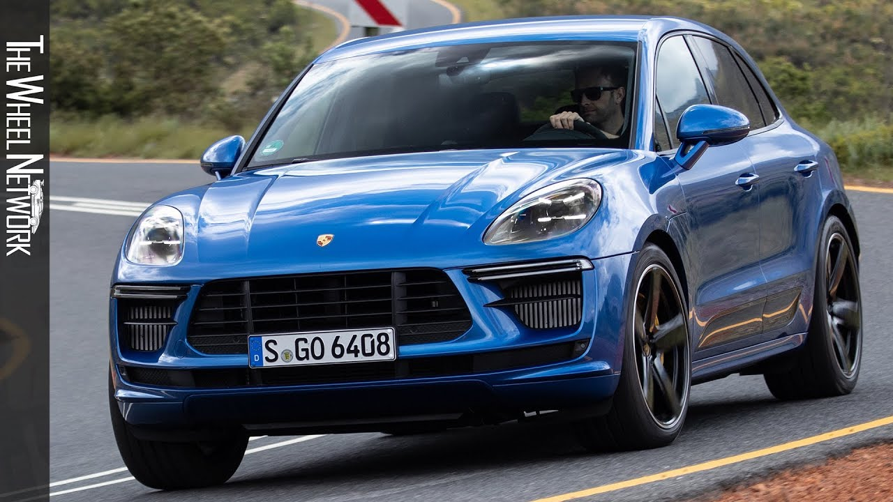 2020 Porsche Macan Turbo Driving In South Africa Sapphire Blue Metallic Youtube