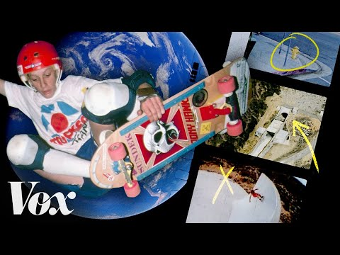Tony Hawk breaks down skateboarding's legendary spots