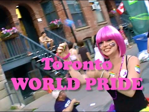 COMING OUT ... World PRIDE Toronto 2014  (WARNING:  Partial Nudity )