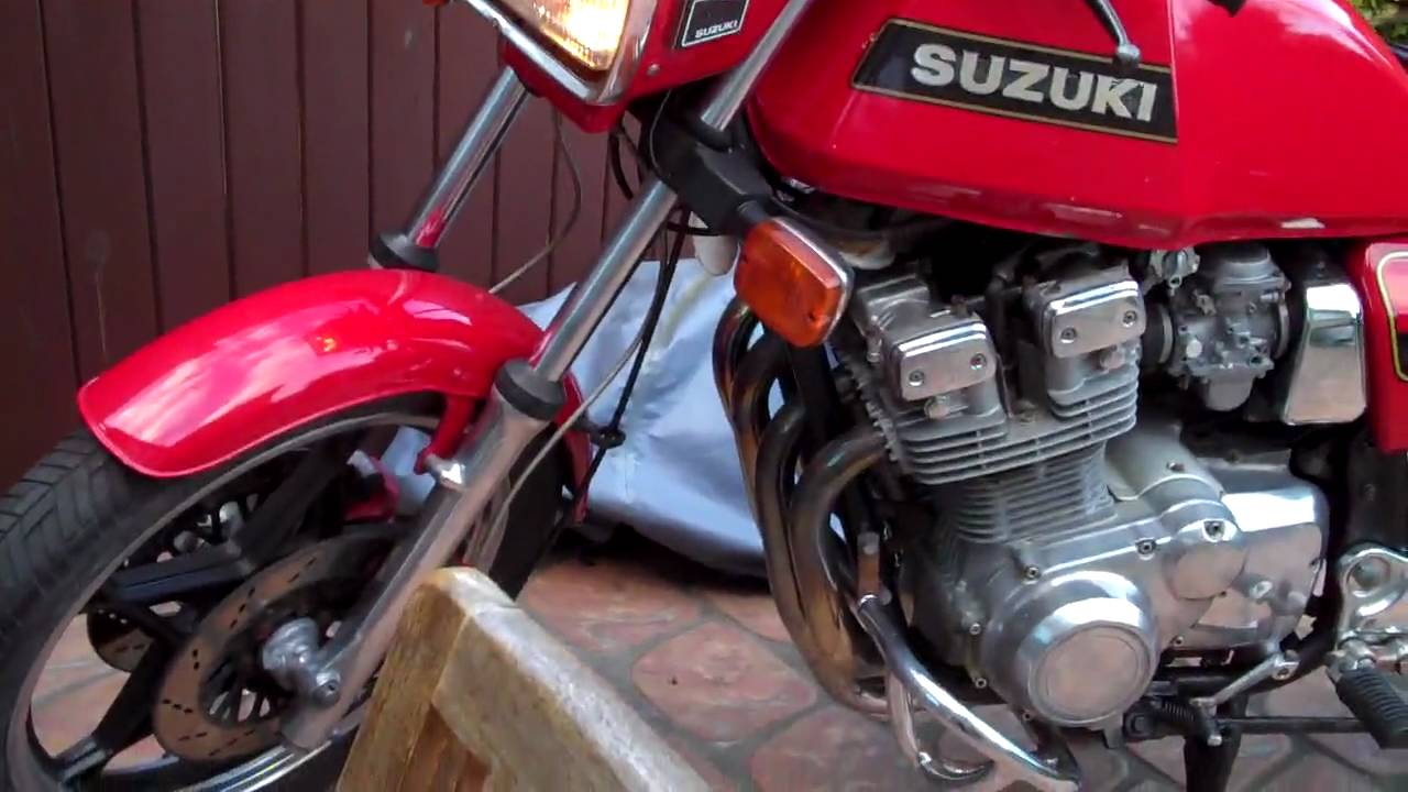 suzuki gsx 750 1980 model youtube. Black Bedroom Furniture Sets. Home Design Ideas