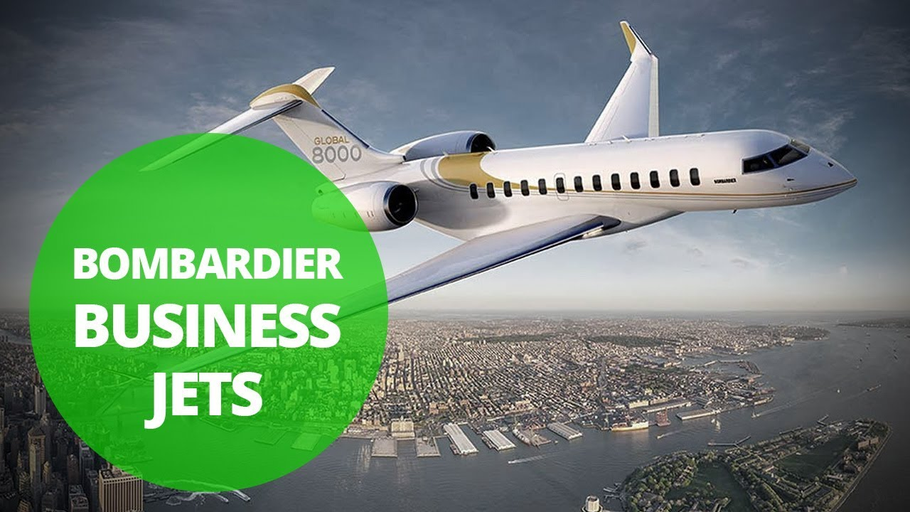 Bombardier Business Jets | Logo | Top 10 Private Aircraft Manufacturers in the world | Vayu India Aviation