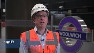 Woolwich Station, Elizabeth Line, London