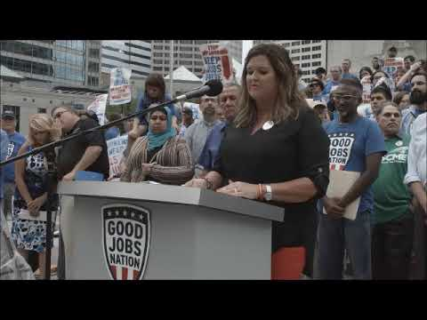 Bring Call Center Jobs Back To Indiana | Pickup The Pace On Jobs Tour | CWA Video