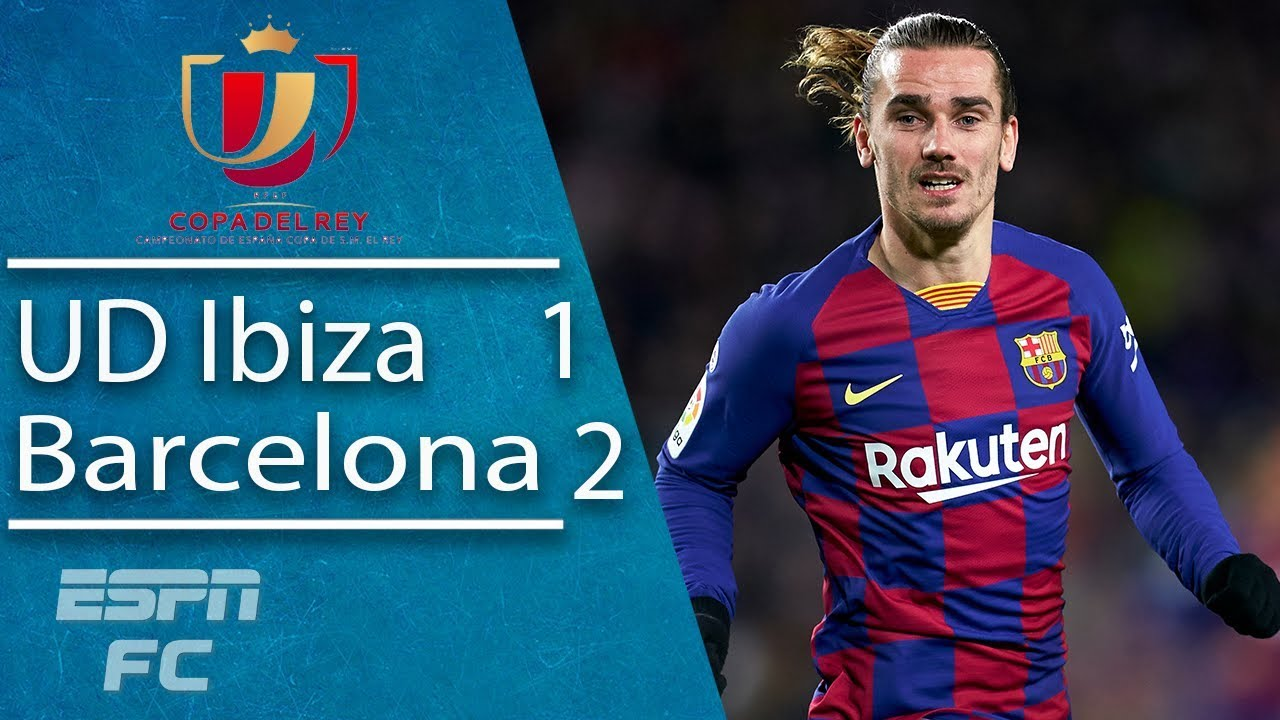 Griezmann scores late to save Barcelona in Copa del Rey