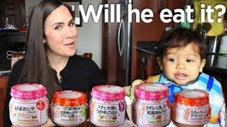 ✽✽ Japanese Baby Food vs. American Baby ✽✽