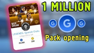 Legends: Spanish Clubs - 1 MILLION gp PACK opening | PES 2019 Mobile