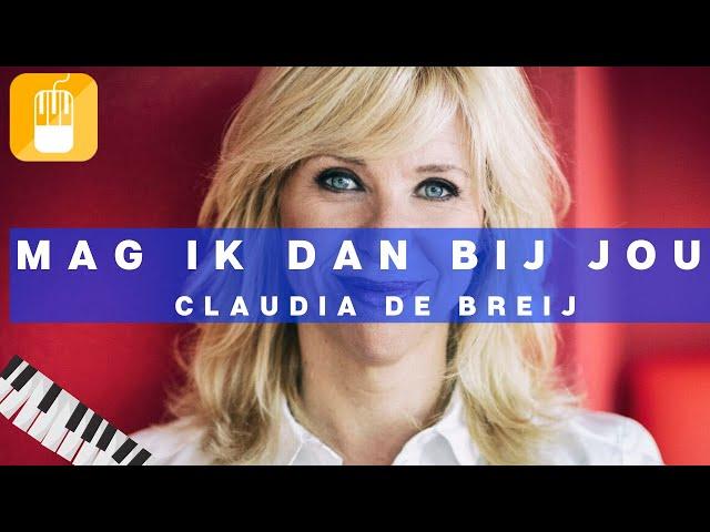 Mag Ik Dan Bij Jou Claudia de Breij Piano Tutorial Synthesia