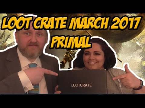 Loot Crate March 2017 Primal Unboxing