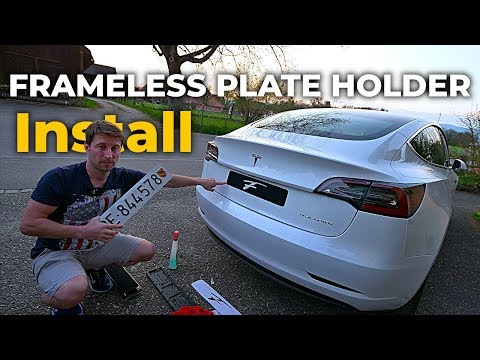 Your Car LICENSE PLATES Are Still In PLASTIC FRAME ? Time To Install FLATEE FRAMELESS PLATE HOLDER