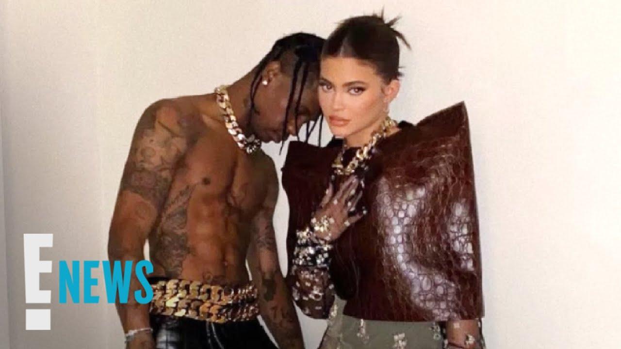 Kylie Jenner Reunites With Travis Scott in Steamy Photos