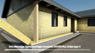 Energirigtig facadeisolering med ISOVER Plus Systemet