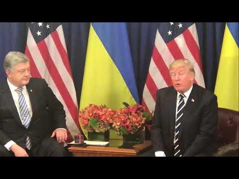 Порошенко и Трамп проводят встречу в Нью-Йорке