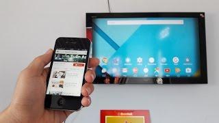 Cách chiếu video Youtube từ điện thoại lên tivi