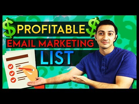 How to Build a FOREVER Profitable Email Marketing List in Affiliate Marketing thumbnail