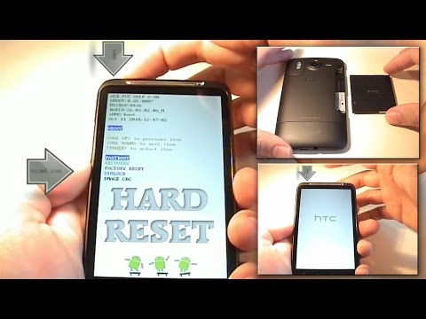 HTC Desire HD (Ace) Hard Reset (Factory Reset)