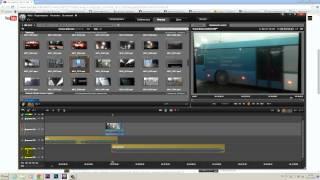 как сделать затухание видео в pinnacle studio