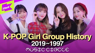 ITZY (여자)아이들부터 소녀시대 핑클까지 Girl Group History | K-pop Mashup | Cover | MUSIC CIRCLE | 뮤직써클 | DreamNote