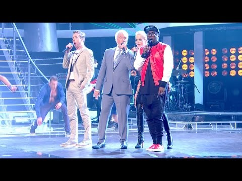 The Coaches perform 'Unbelievable' - The Live Quarter Finals: The Voice UK 2015 - BBC One