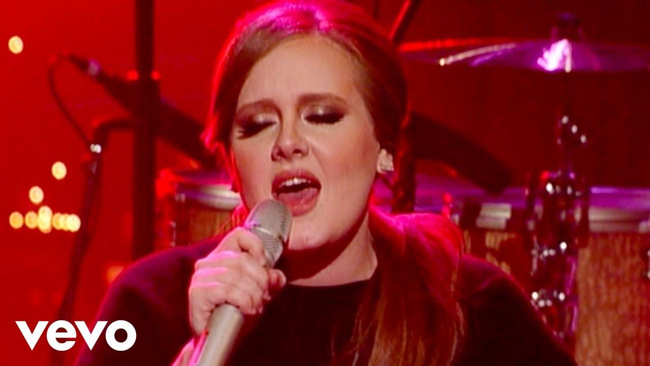 Download Adele - Turning Tables (Live on Letterman)