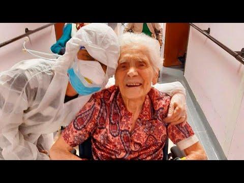 103 yaşında Covid-19'u yenen İtalyan kadın: Cesaret, kudret ve inançla iyileştim