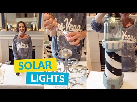 Repurpose Items Into DIY Solar Lights!