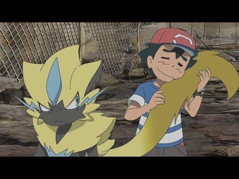 Ash Vs Zeraora [FULL FIGHT] - Pokemon Sun And Moon Episode 100 And 101「AMV」
