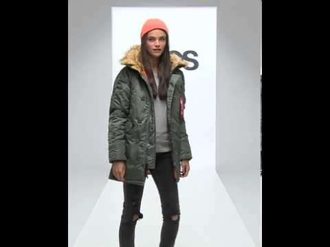 Оригинальные куртки аляска в магазине в киеве от alpha industries. Модели slim fit. Теплая женская аляска airboss n7-b eileen с длинной до колен.