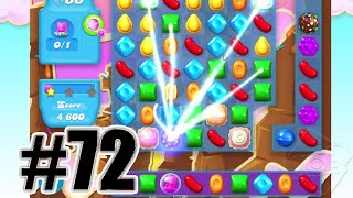 Candy Crush Soda Saga Level 72 | Complete Level No Booster