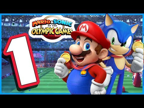 Mario & Sonic at the Olympic Games Tokyo 2020 - Story Mode Walkthrough Part 1