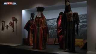 عرض أزياء فلسطينية تراثية بالقدس