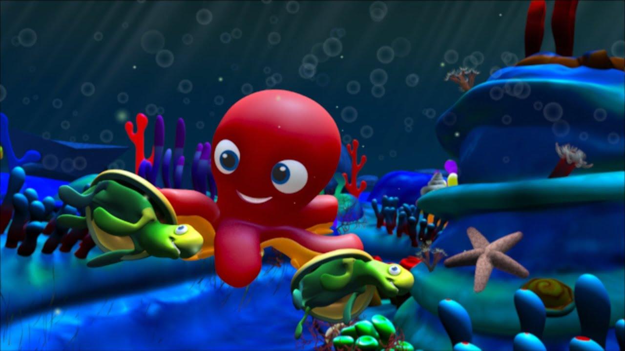 En el fondo del mar canciones y cl sicos infantiles youtube - Fotos fondo del mar ...